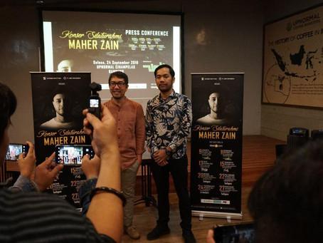 Gelar Press Conference di Upnormal, Maher Zain Akan Sapa Fans di Bandung