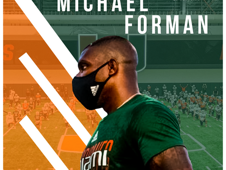 Real Talk Season 2 With QBV #2: Michael Forman Current Defensive coach at the University of Miami