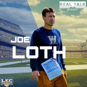 Real Talk Season 2 with QBV#1: Current Head Coach for Western Connecticut State University Joe Loth