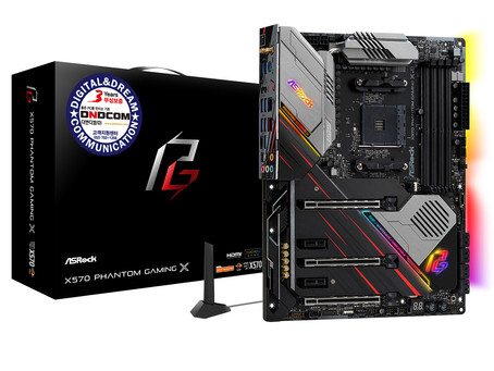 디앤디컴, AMD 3세대 라이젠 CPU 전용 애즈락 X570 신규 메인보드 2종 출시