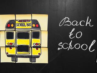 And school begins again!