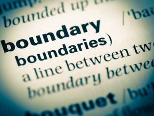 What a boundary is and is not