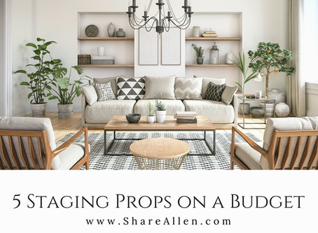 5 Staging Props for any Budget