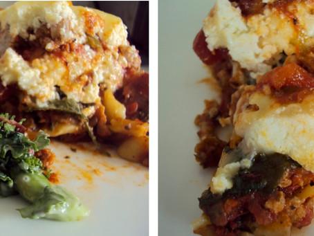 Lasagna My Way!!