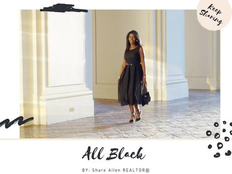 THIS BLACK DRESS…