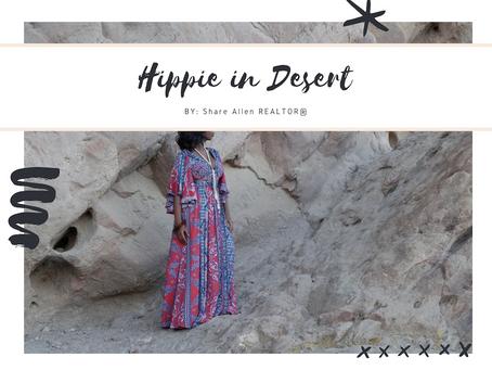 Hippie in the Desert..