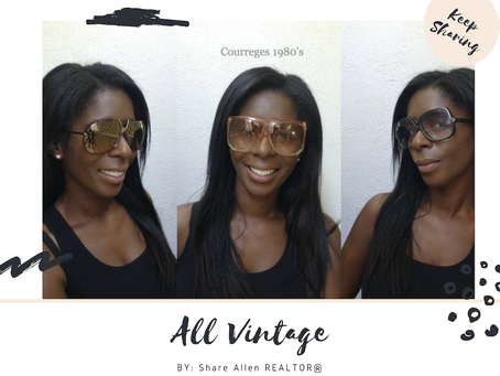 My Vintage Sunglass Collection