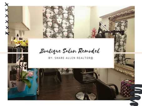 BOUTIQUE SALON REMODEL WEHO