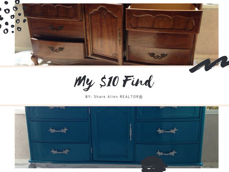 THE DRESSER | MY $10 FIND!!