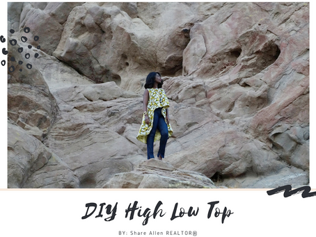 DIY HIGH LOW TOP