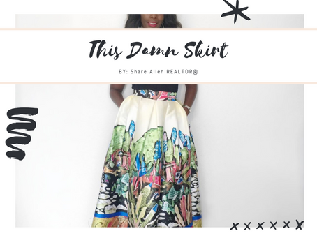 "IT'S ALL ABOUT ""THIS SKIRT"""