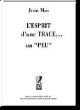 L'esprit d'une trace - J Mas COUV.png
