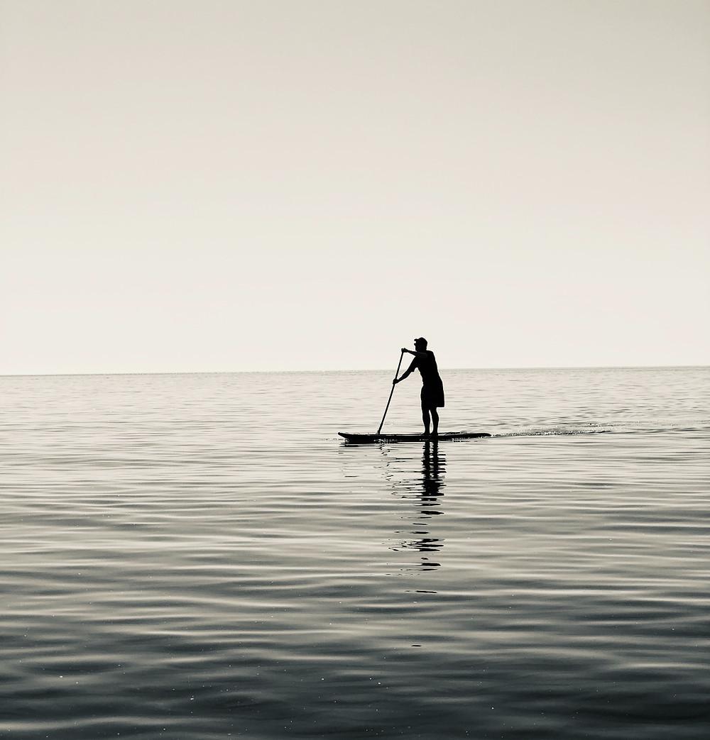 Calories burned paddleboarding