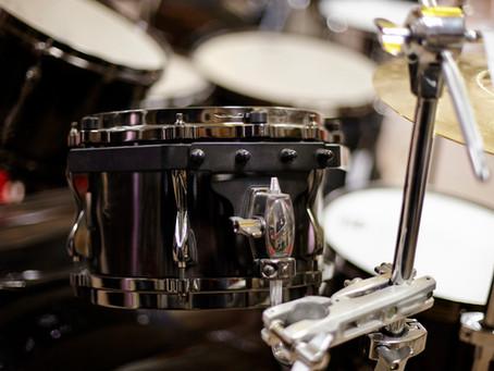 We Got Drums!