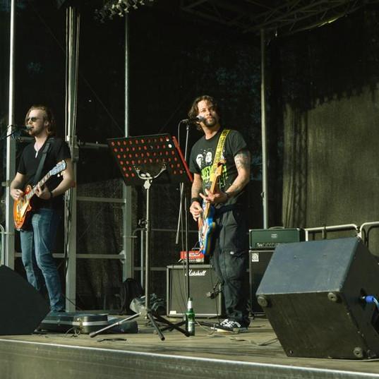 Konzert in Hülchrath beim Vatertagsrock