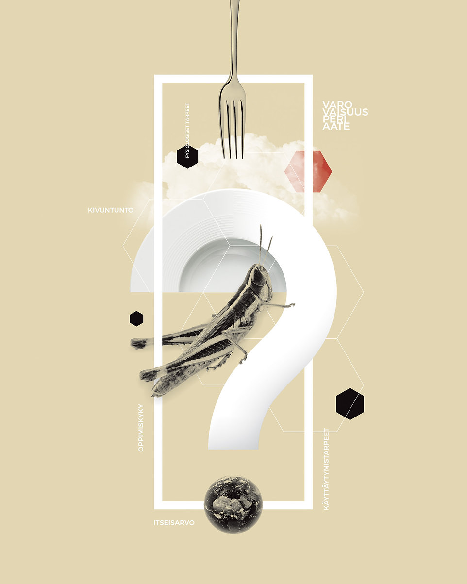 insects illustration food