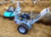 SARL ECS balayeuse pailleuse logettes paillage avicole