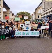 Les élèves du LEM s'engagent pour le climat