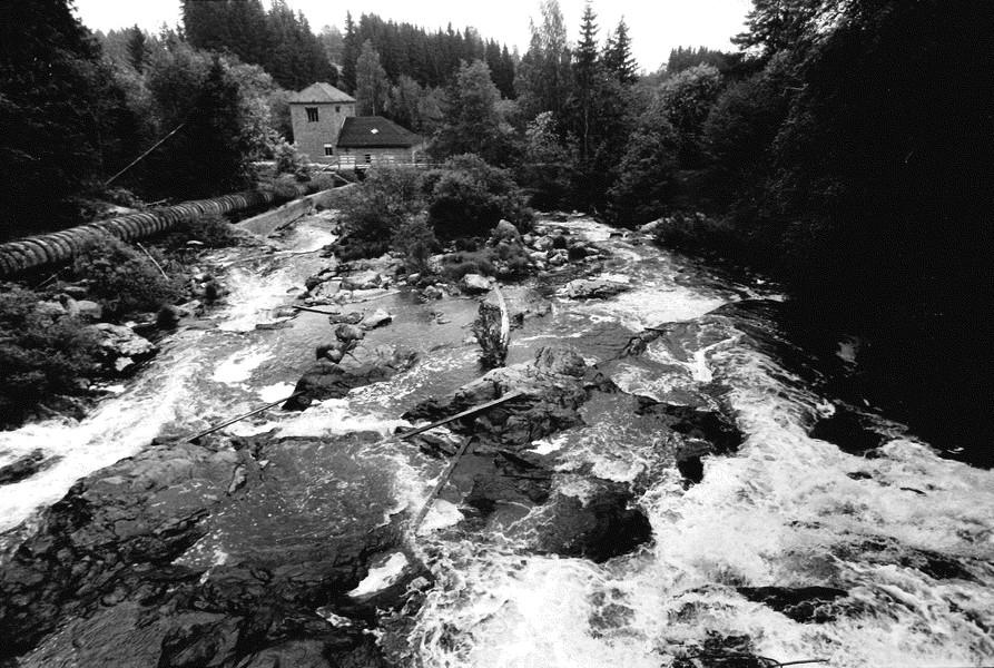 Myllykosken voimalaitos 1977