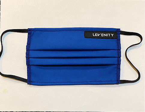 LEVENITY Cotton Face Mask (Blue)