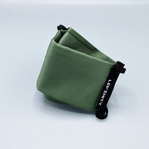 Olive Green Supima Face Mask