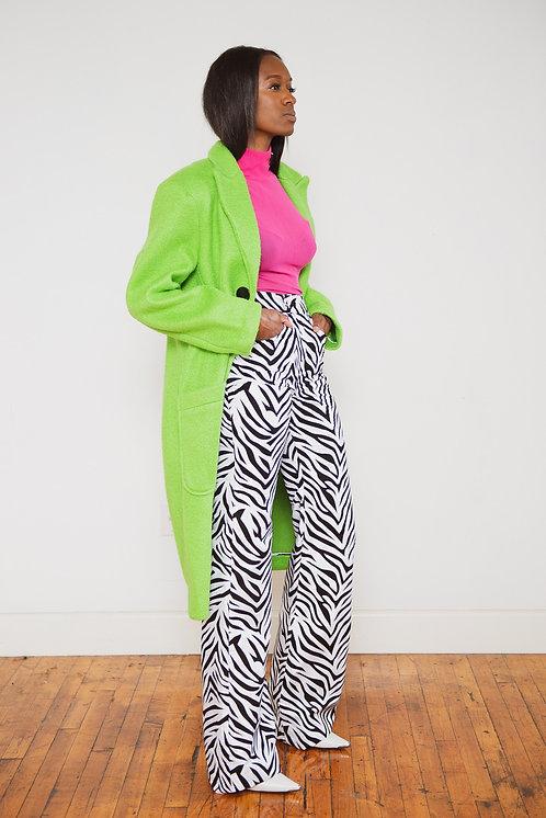 Tessa Zebra Print Pants