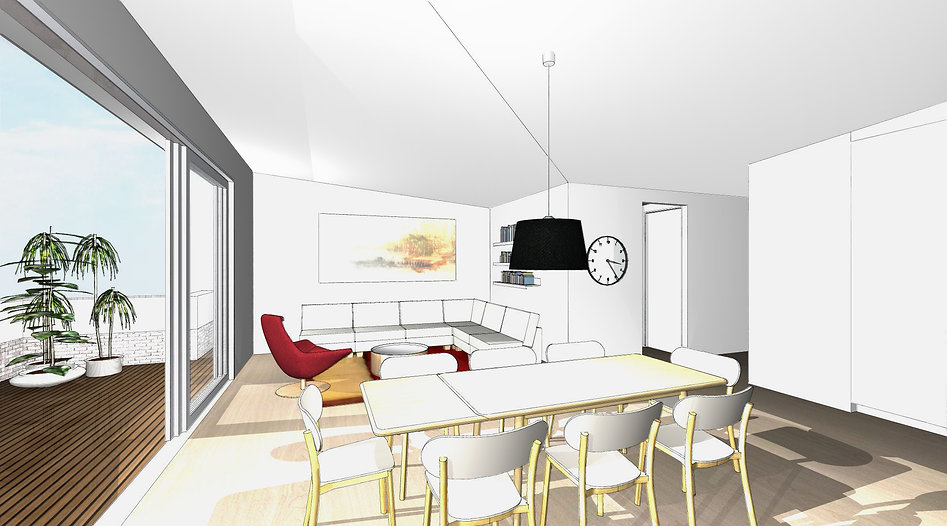 Moore Park Rd Apartments Render Interior