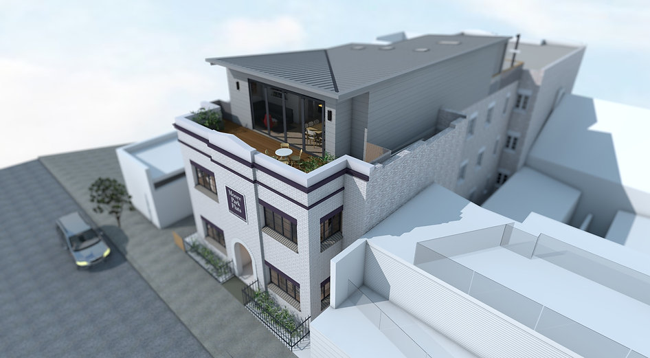 Moore Park Rd Apartments Render