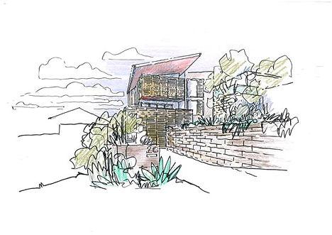 Seaview House Sketch