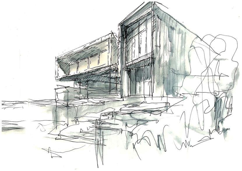 V-House Sketch