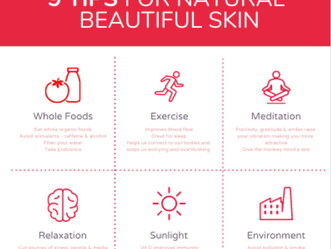 9 Tips for Natural Beautiful Skin