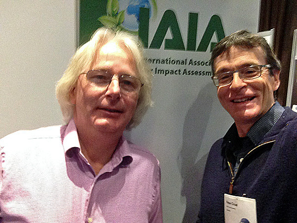 Roel Slootweg and Peter Croal from RBA played important roles during the annual conference for the International Association for Impact Assessment