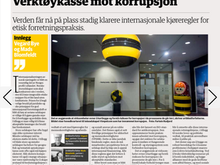 Article published in Norwegian Business newspaper with BDO
