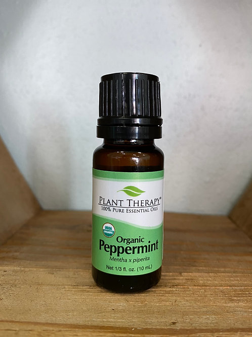 Organic Peppermint 10ml - Essential Oil