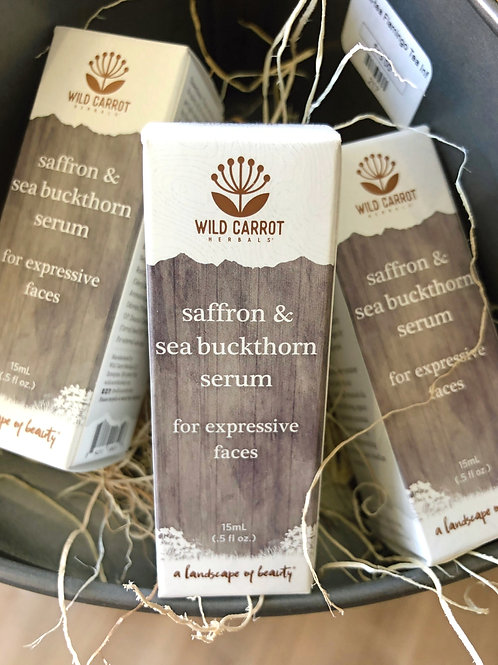 Wild Carrot - Saffron & Sea Buckthorn Serum