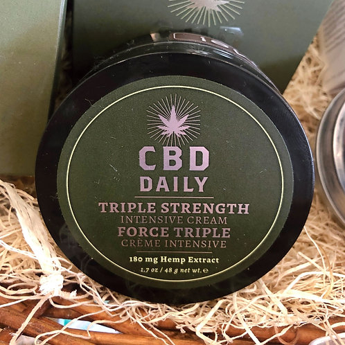 CBD Daily - Triple Strength Intensive Cream 1.7oz
