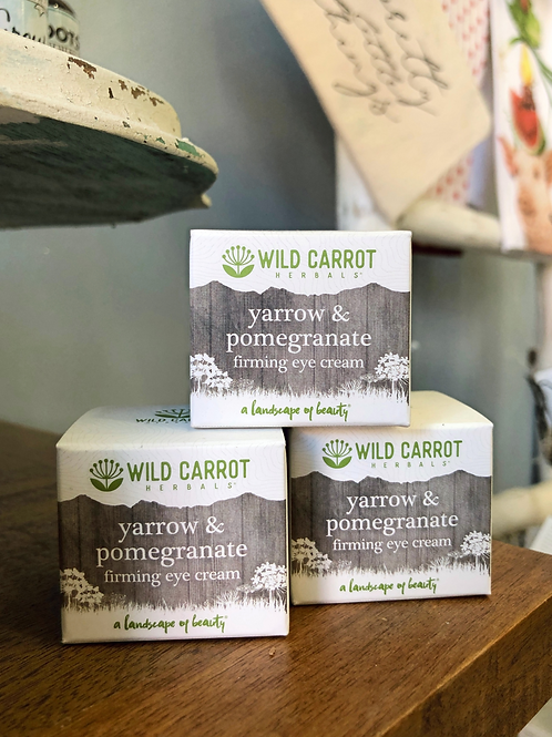 Wild Carrot - Yarrow & Pomegranate Firming Eye Cream