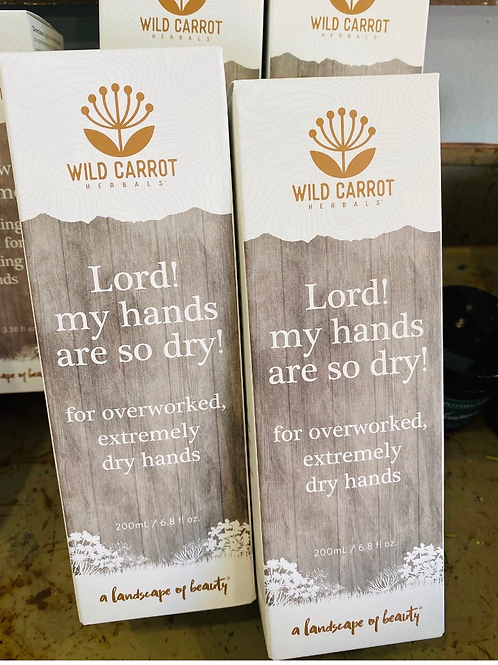 Lord! My Hands are so dry! Hand lotion