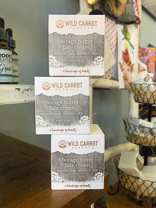Wild Carrot - Borage Butter Face Cream