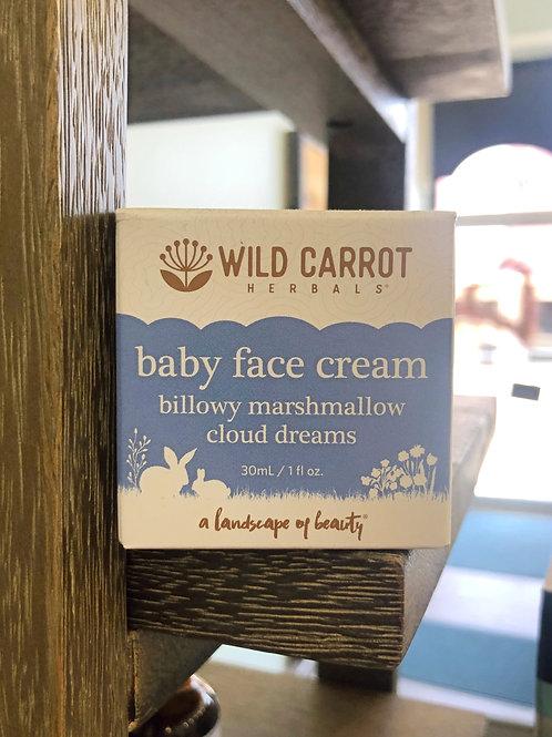 Wild Carrot - Baby Face Cream