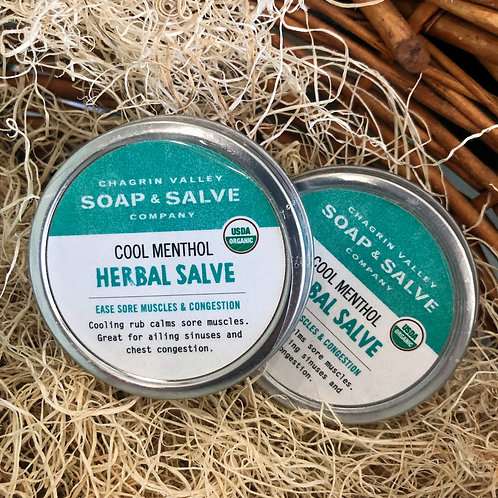 Cool Menthol - Herbal Salve