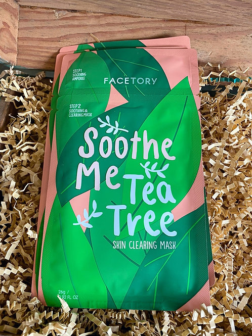 Face Mask - Soothe Me Tea Tree Skin Clearing