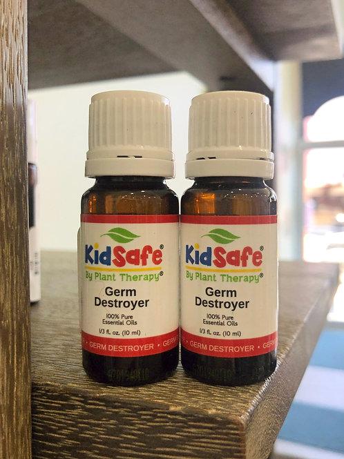Germ Destroyer - Kids Safe Essential Oil 10ml