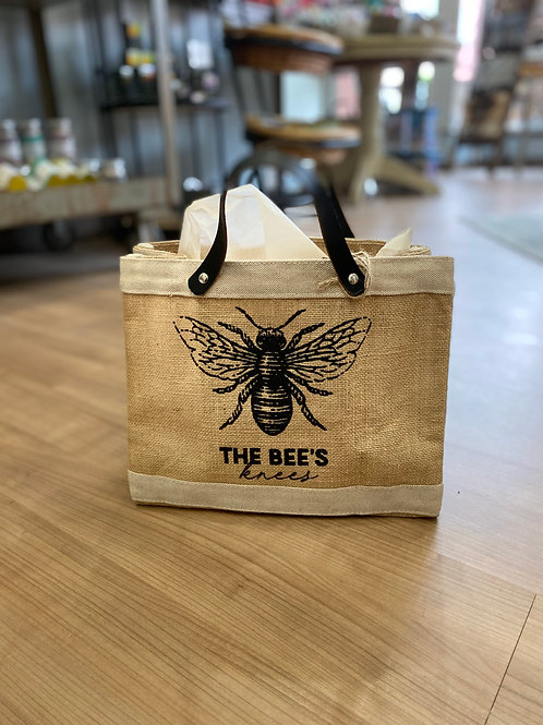 Bees Knees Mini Market Tote