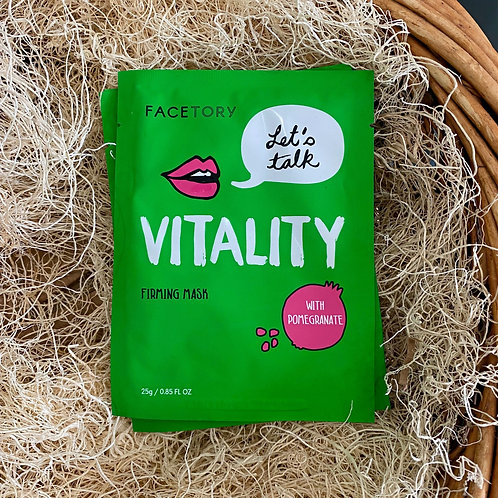 Face Mask - Let's Talk Vitality Firming Mask