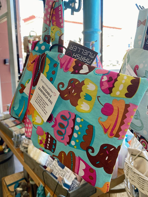 Reusable Snack Bag - Cupcakes