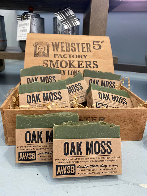 Oak Moss Bar Soap