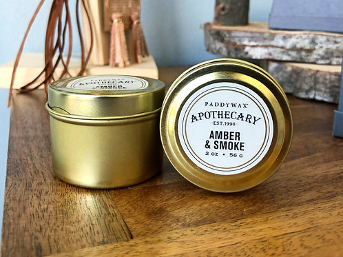 Amber & Smoke -Candle 2oz