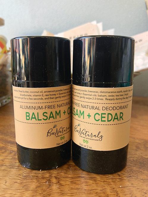 Deodorant - Balsam & Cedar