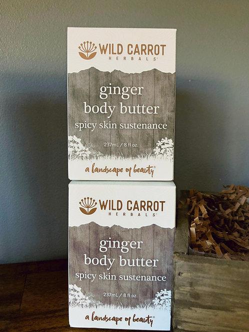 Wild Carrot - Ginger Body Butter